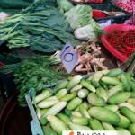 cucumber in Paknam Fresh Market, Thailand
