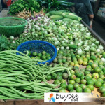 Vegetables in paknam fresh market