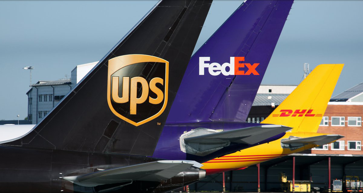 UPS-FEDEX-DHL