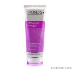 Pond's Flawless White Deep Whitening Facial Foam Wash Cleanser 100g