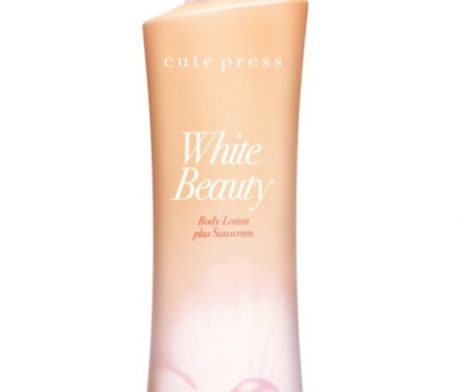 Cute Press White Beauty Body Lotion Plus Sunscreen 500ml