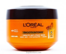 L'Oreal Paris Smooth-Intense Anti-Frizz 1 Minute Caring Mask 200ml