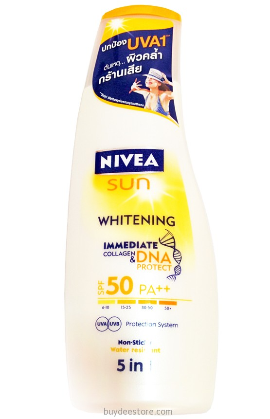 Nivea Sun Whitening Immediate Collagen & DNA Protect SPF50 ...
