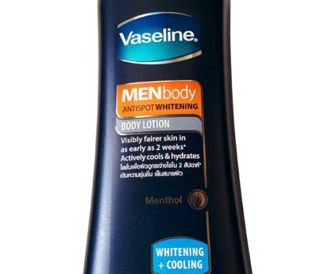 Vaseline Men Body Anti Spot Whitening Menthol Body Lotion 400ml