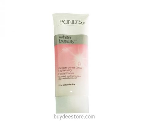 Pond's White Beauty Pinkish-White Glow Lightening Facial Foam Pro-Vitamin B3 100mL