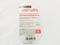 Maybelline Baby Lips SPF20 Lychee Addict 4.5g