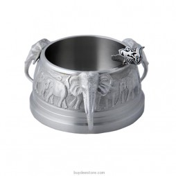 Elephant Ashtray Pewter 8.9x4.6cm