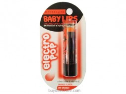 Maybelline Baby Lips Electro Pop No Color Orange Flavor Oh Orange 3.5g