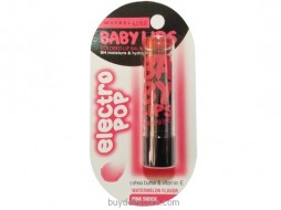 Maybelline Baby Lips Electro Pop No Color Watermelon Flavor Pink Shock 3.5g