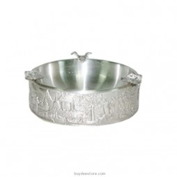 Thai Tradition Ashtray Pewter 11.0 x 4.0cm