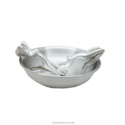 Woman Ashtray Pewter 11.2 x 4.2cm