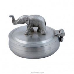 Elephant Ashtray Pewter 5.5 x 3.5cm