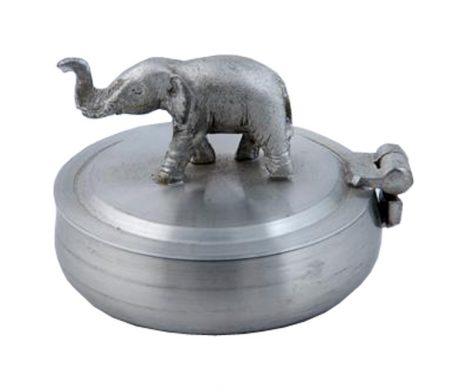 Elephant Ashtray Pewter 5.5 x 3.5cm