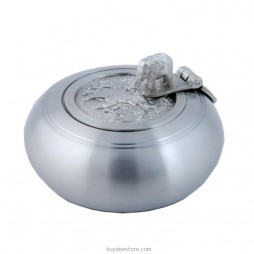Elephant Ashtray Pewter 7.0 x 4.8cm