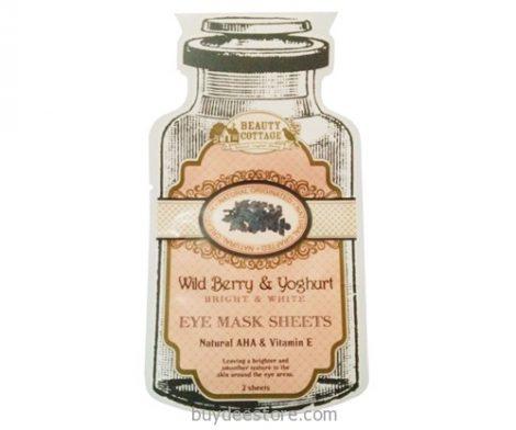 Wild berry & Yoghurt Bright & White Eye Mask Sheets Natural AHA & Vitamin E 2 Sheets