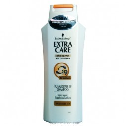 Schwarzkopf Extra Care Hair Repair With Liquid Keratin Total Repair 19 Shampoo Dry Damaged Hair 200mL