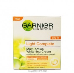 Garnier Skin Naturals Day Light Complete Multi-Action SPF20/ PA+++ Whitening Cream 50mL