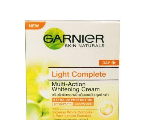 Garnier Skin Naturals Day Light Complete Multi-Action SPF20/ PA+++ Whitening Cream 50mL