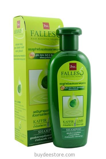 BSC Falles Hair Reviving Shampoo Extra Soft & Nourishment Kaffir Lime 180mL