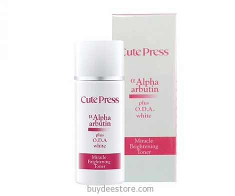 Cure Press Alpha Arbutin Plus O.D.A. White Miracle Brightening Toner 100mL