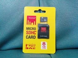 Strontium Micro SDHC Card 8GB Class6 1 Piece