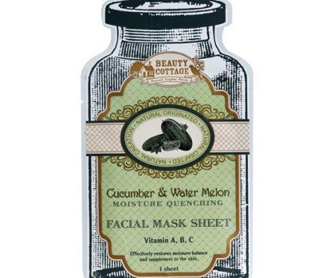 Cucumber & Water melon Moisture Quenching Facial Mask 1 Sheet