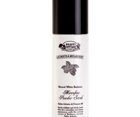 Licorice & Mulberry Natural White Radiance Microfine Powder Scrub 100mL