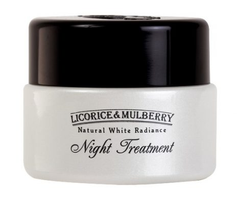 Licorice & Mulberry Natural White Radiance Night Treatment 50mL