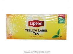 Lipton Yellow Label Tea International Blend 25 Tea Bags Black Tea