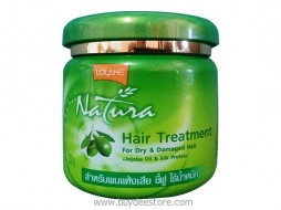 Lolane Natura Hair Treatment For Dry & Damaged Hair +Jojoba Oil & Silk Protein 250g