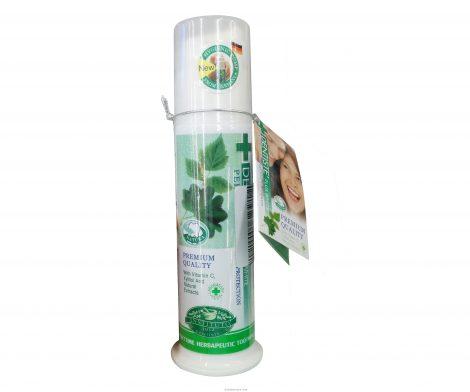 Dentiste' Plus White Vitamin C & Xylitol Premium Quality Nighttime Herbapeutic Toothpaste 120g