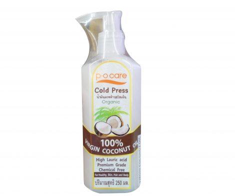 P.O Care Cold Press 100% Virgin Coconut Oil 250mL