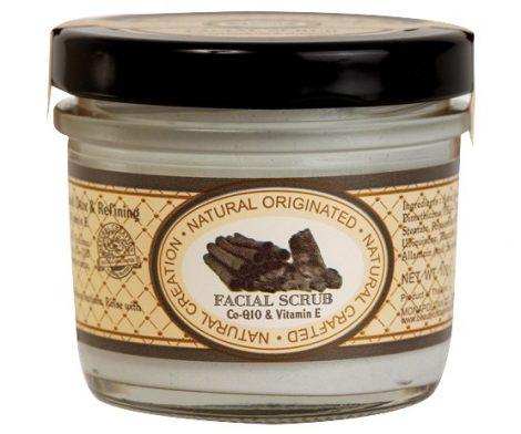 Bamboo Charcoal & Valcano mud Clay natural Dtox & Refining Facial Scrub 100g