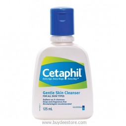 Cetaphil Gentle Skin Cleanser For All Skin Types 125mL