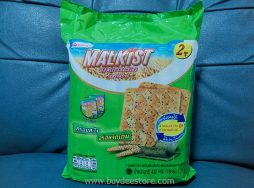 Mayora Malkist Seaweed Flavoured Crackers 18g x 24 Pcs.