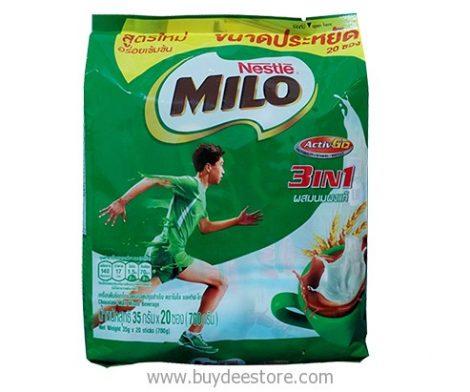 Nestle Milo 3 in 1 Activ-Go Chocolate Malt Mixed Beverage 35g x 20 sticks (700g)