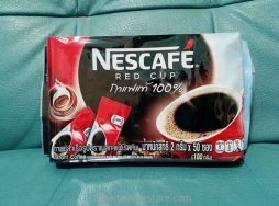 Nestle Nescafe Red Cup Instant Coffee 100% 2g x 50 Sticks (100g)