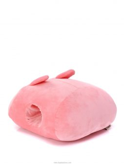 ZEENZONE Huggable Rabbit Plush Pillow Pink