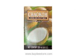 Chaokoh Brand 100% Coconut Milk Hygienic UHT System 250mL