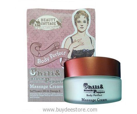 Chili & Black Pepper Body Perfect Massage Cream 95mL