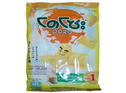 Dozo Japanese Rice Cracker Corn Cheese Flavored 10psc (56g)