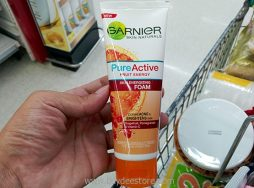 Garnier Skin Naturals Pure Active Fruit Energy Skin Energizing Foam 100mL