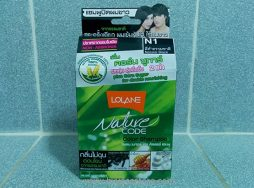 Lolane Nature Code Color Shampoo Non-Ammonia N1 Natural Black 1 Box
