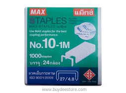 Max Staples No.10-1M 1000staples 24 Box in One