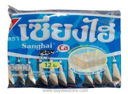Sanghai Milk Flavoured Cream Wafers (CA) 6g x 12pcs (72g)