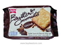 Bissin Butter Coconuts Sanwich Biscuit with Cocoa Topped 160g