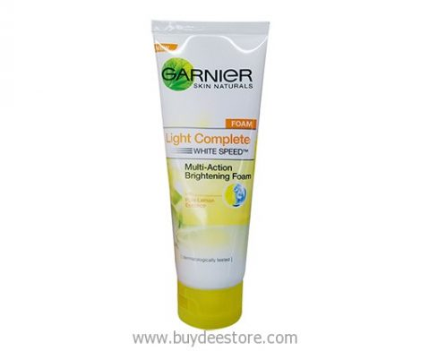 Garnier Skin Naturals Light Complete White Speed Multi-Action Brightening Foam 100mL
