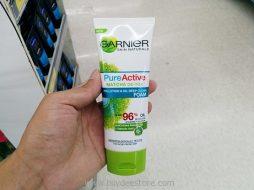 Garnier Skin Naturals Pure Active Matcha De-Tox Pollution & Oil Deep Clean Foam 100mL