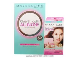 Maybelline New York Clear Smooth All in One Two Way Cake SPF32 PA+++ Powder 01 Light 9g