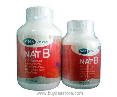 Mega We Care Nat B Set A Mixed Vitamin B Supplement 100+40 Capsules